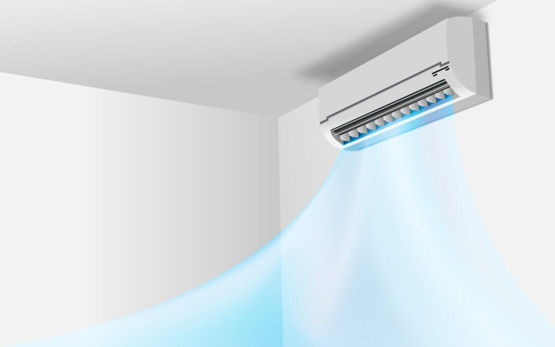 How does a ductless heat pump work?