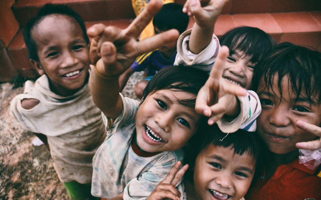 Charity can help poor people smile